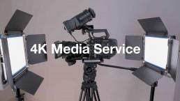 4K Media Service, Operador de Cámara, Productora, Equipo,