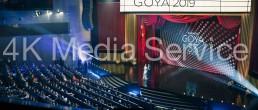 4k Media Service, Premios Goya 2019.