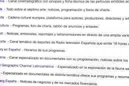 4k Media Service, Canales Temáticos.