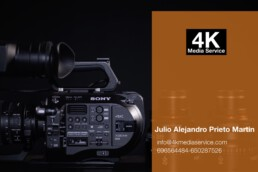 4K Media Service, Operador de Cámara, Productora Audiovisual,